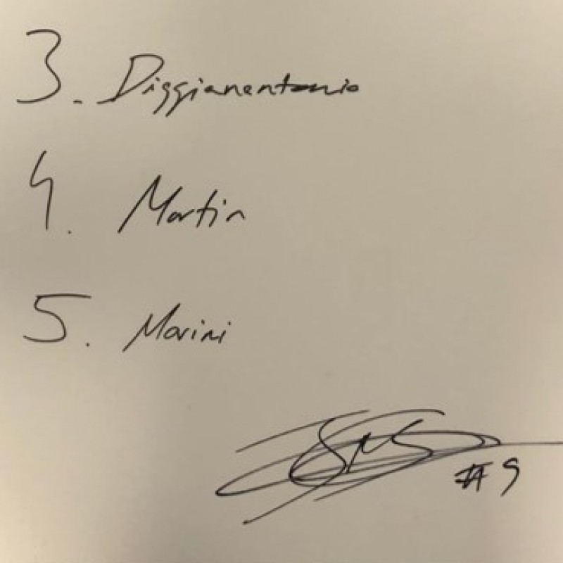 Signed Board of Jorge Navarro from the Unforgettable First Race Weekend of 2020 in Qatar