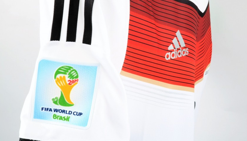 Muller's Germany Match Shirt, World Cup Final 2014