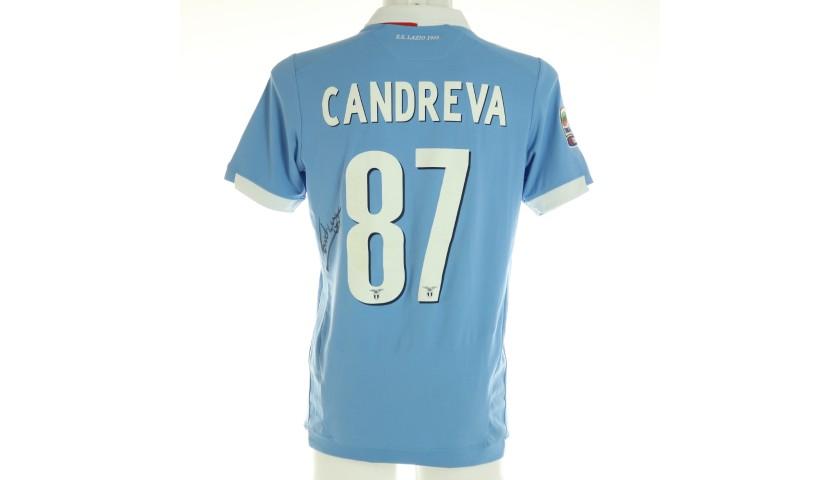 Candreva's Official Lazio Signed Shirt, 2014/15