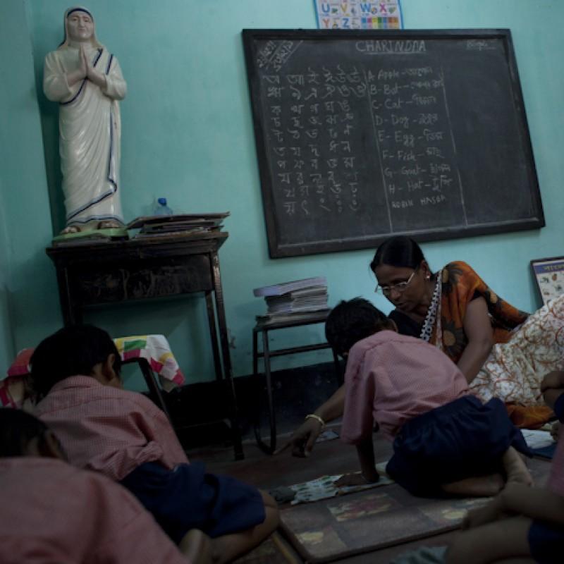 """""""Beautiful smiles, beautiful problems - Udayan, India"""" Photograph"""