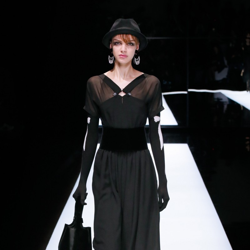 Attend the Giorgio Armani Fashion Show in Milan