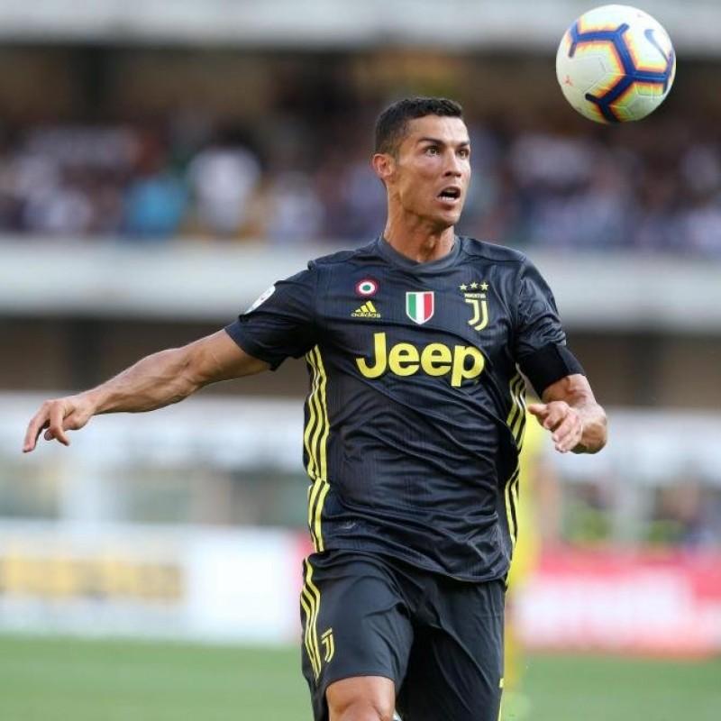 Ronaldo's Official Juventus Signed Shirt, 2018/19