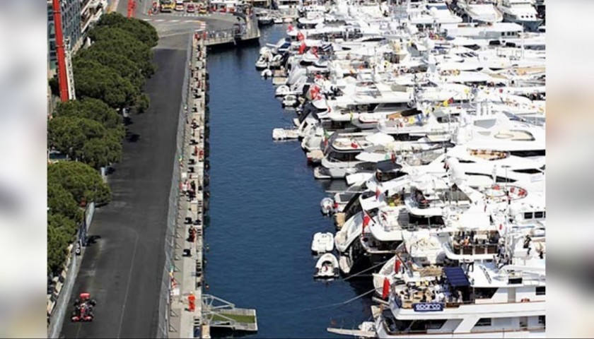 VIP Superyacht Hospitality at Monaco Grand Prix with Accommodation
