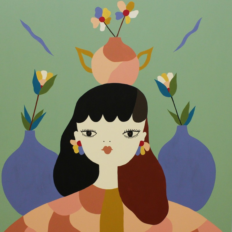"""""""Growing strong your own flowers"""" by Alessandra Pulixi / La Fille Bertha"""