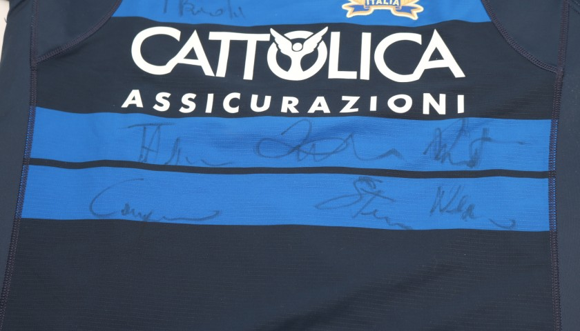 Ghiraldini's Special FIR Worn Shirt - Signed by the Players