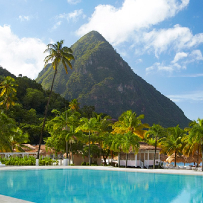 Enjoy 4-Nights at Sugar Beach, a Viceroy Resort on St. Lucia with Airfare