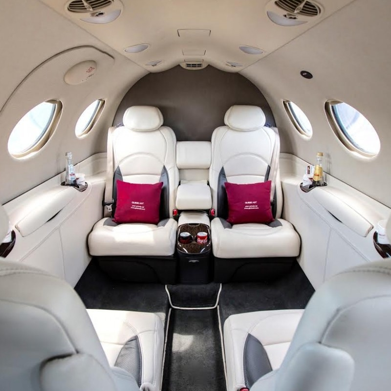 One Way flight on GlobeAir Private Jet