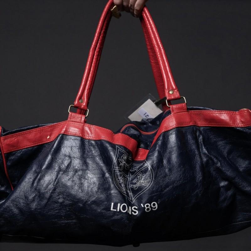 Ieuan Evans' Kit Bag from the 1989 Tour to Australia