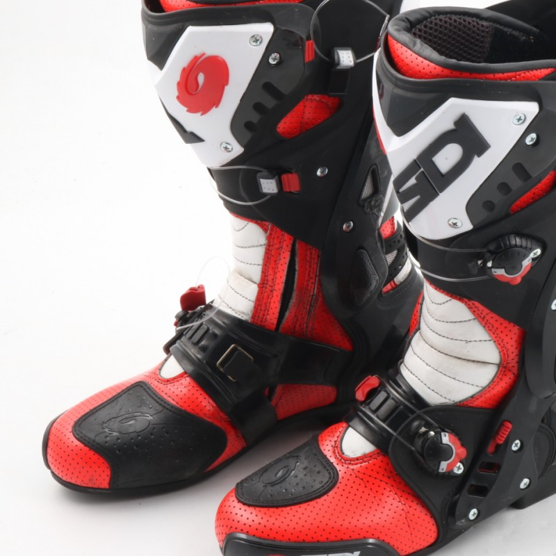 Michele Pirro's Boots, Ducati - Worn