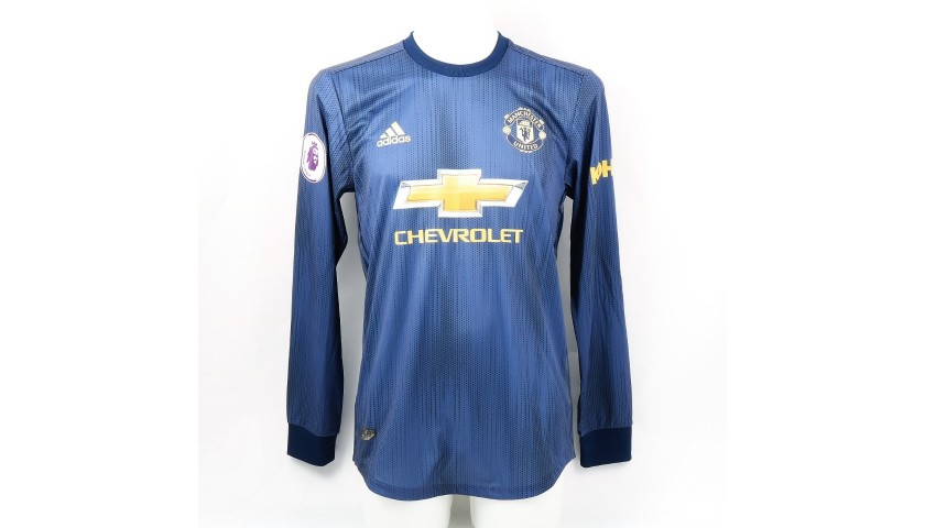 Rashford's Match Shirt, Arsenal-Man Utd 2019