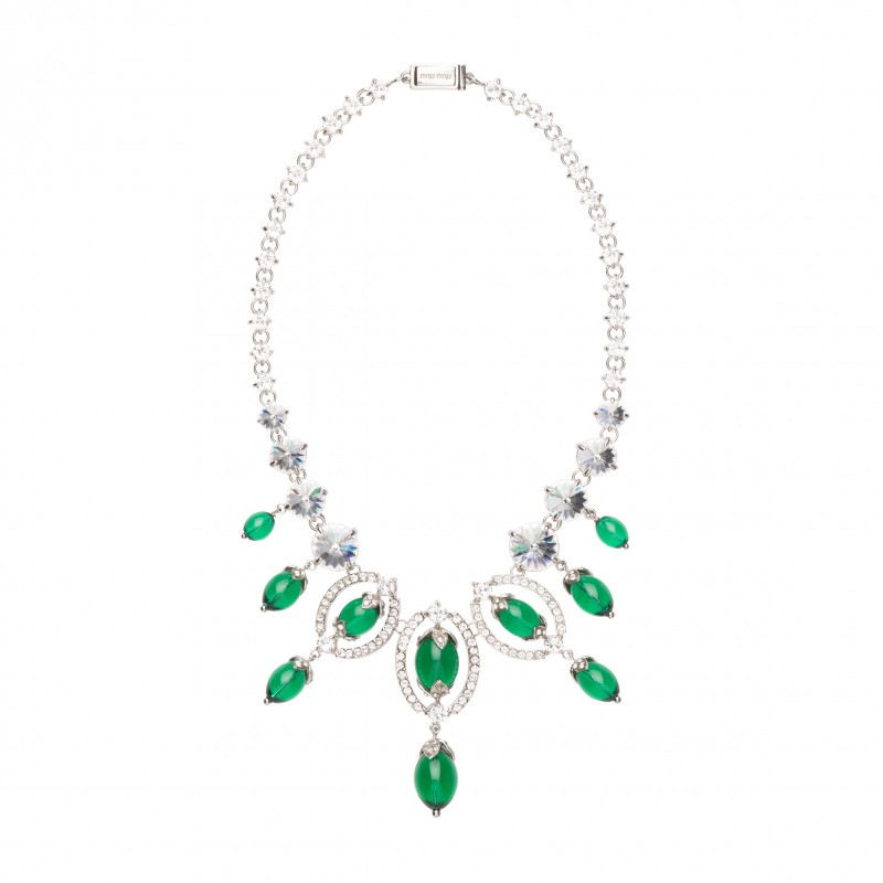 MIU MIU Queen Jewels Necklace