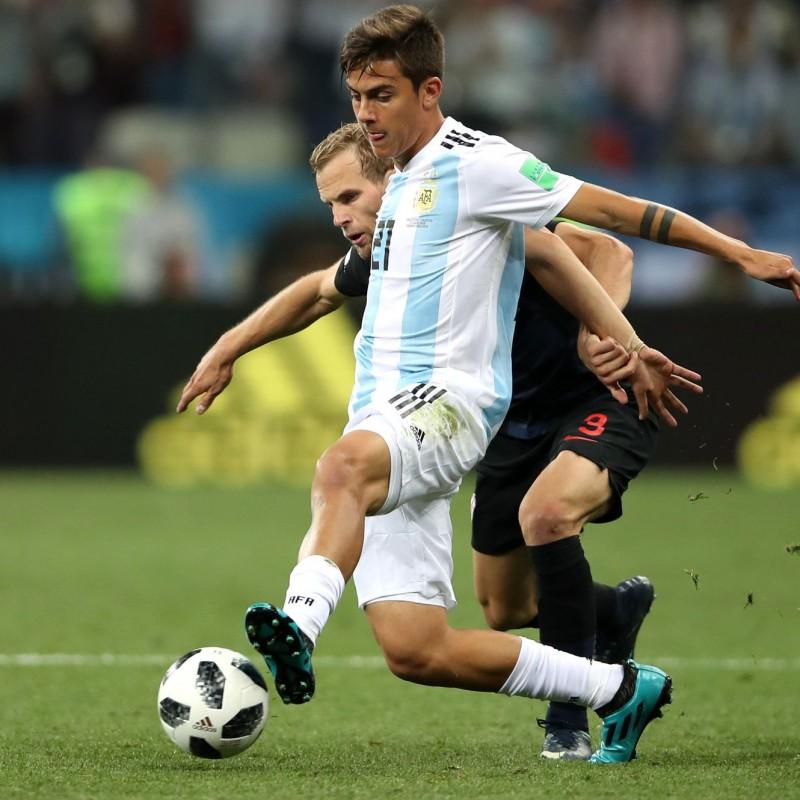 Dybala's Match Shirt, Nigeria-Argentina 2018