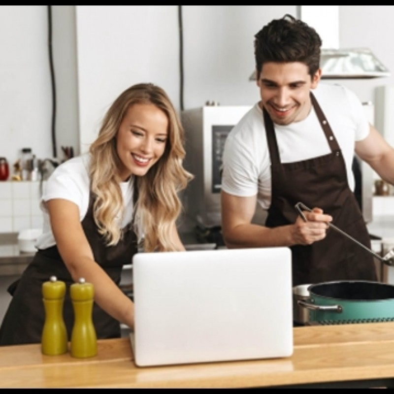 Virtual Cooking with a Celebrity Chef