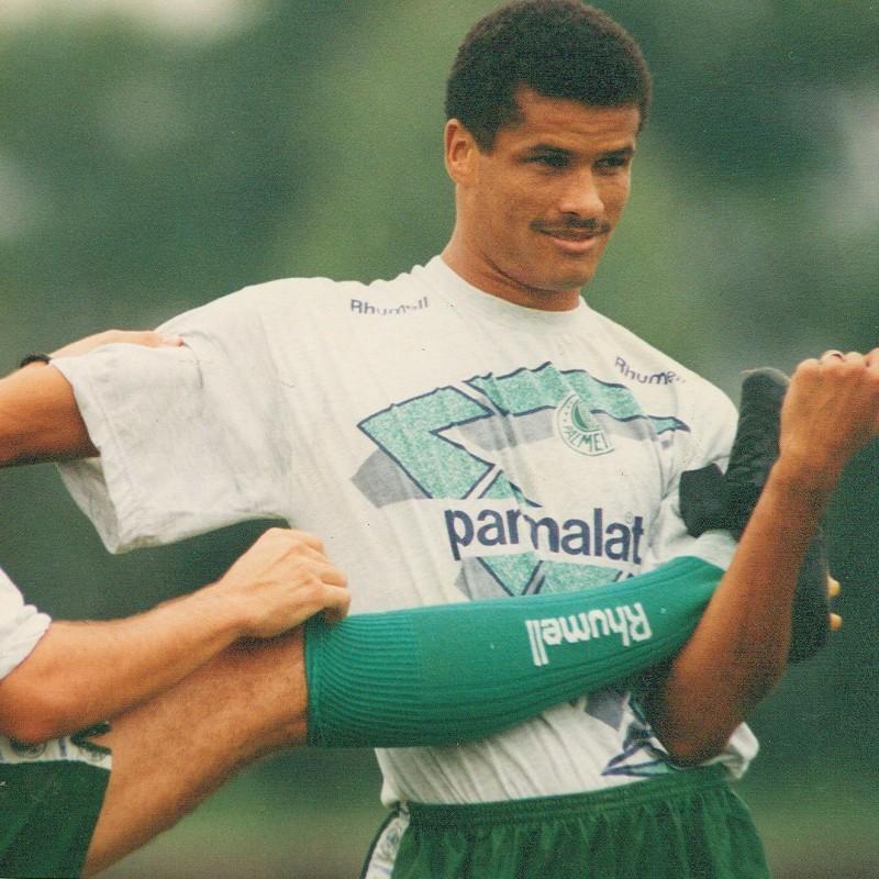 Palmeiras Training Shirt - Signed by Rivaldo