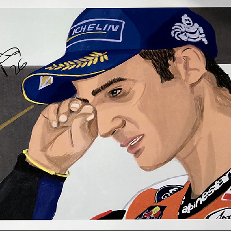 """Dani Pedrosa: Race 4, Jerez"" by Tammy Gorali"