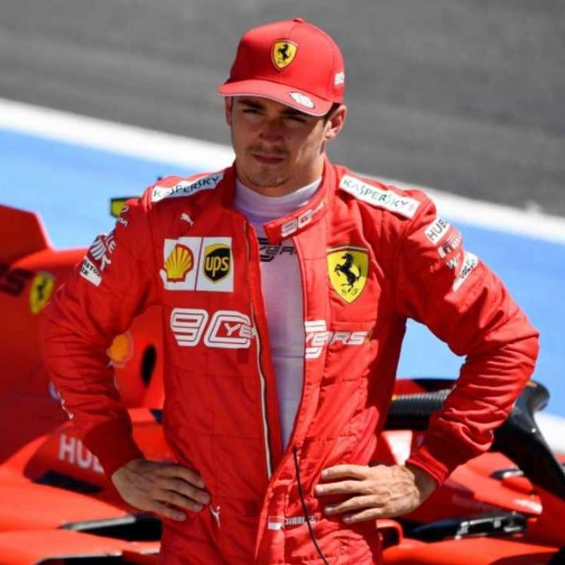 Official Scuderia Ferrari Cap - Signed by Charles Leclerc and Carlos Sainz