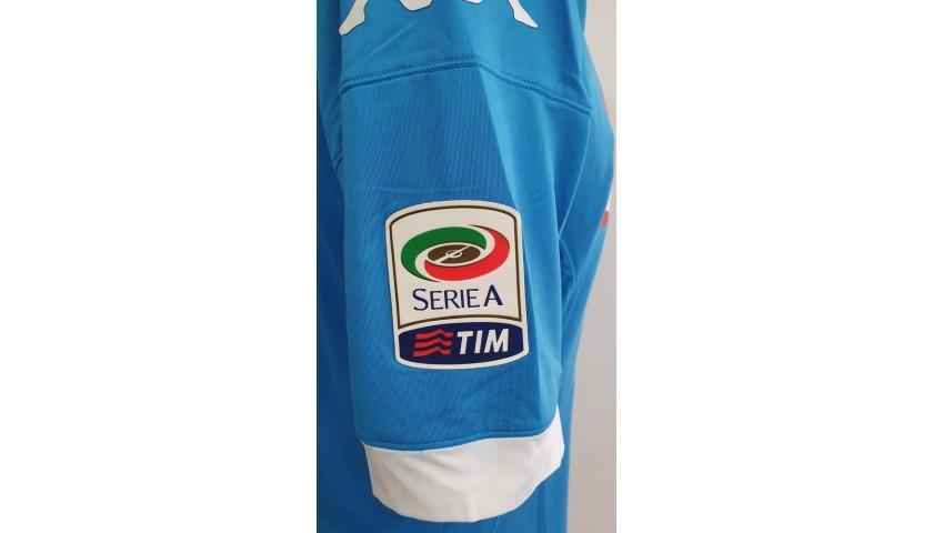 Hamsik's Napoli Worn and Signed Shirt, 2015/16