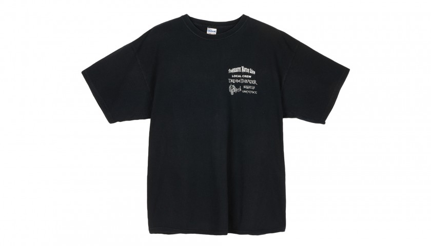 """Staff T-Shirts from """"Local Crew"""", Progressive Nation 2009 and the 2008 Kiss Tour"""