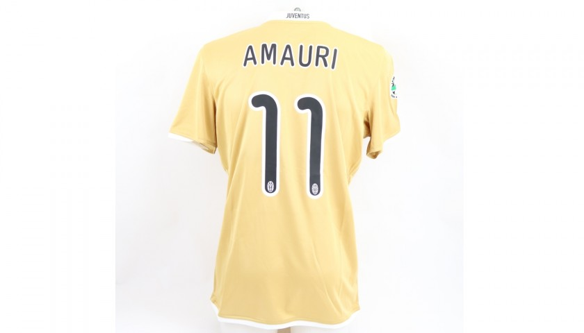 Amauri's Juventus Match Shirt, Serie A 2008/09