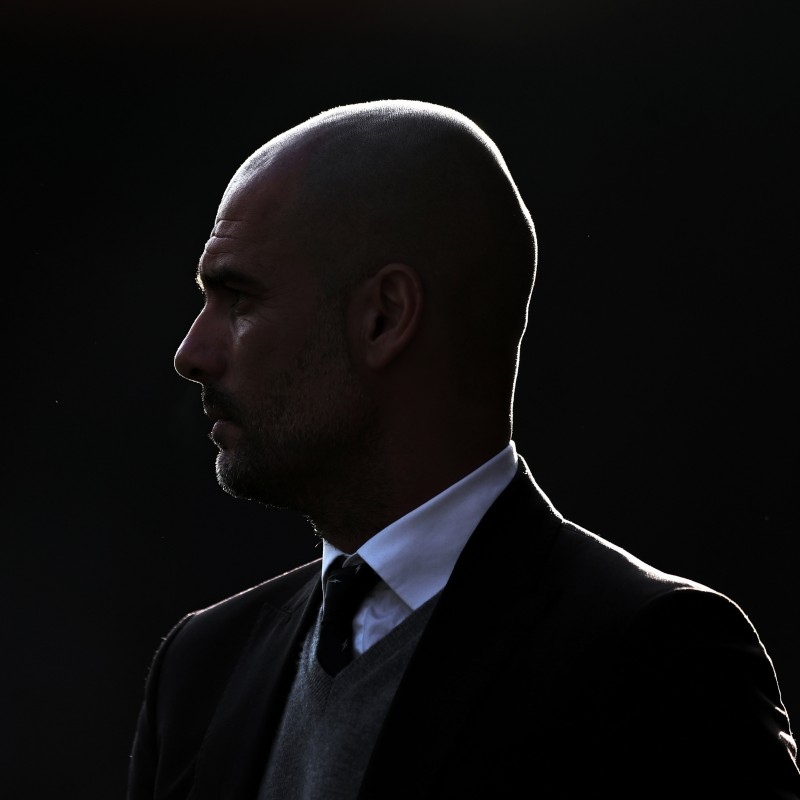 Manchester City Manager Pep Guardiola 2018 Home Game Unique Picture