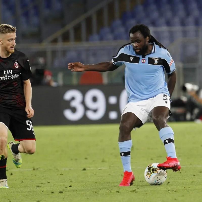 Lukaku's Lazio Worn Shirt, 2019/20