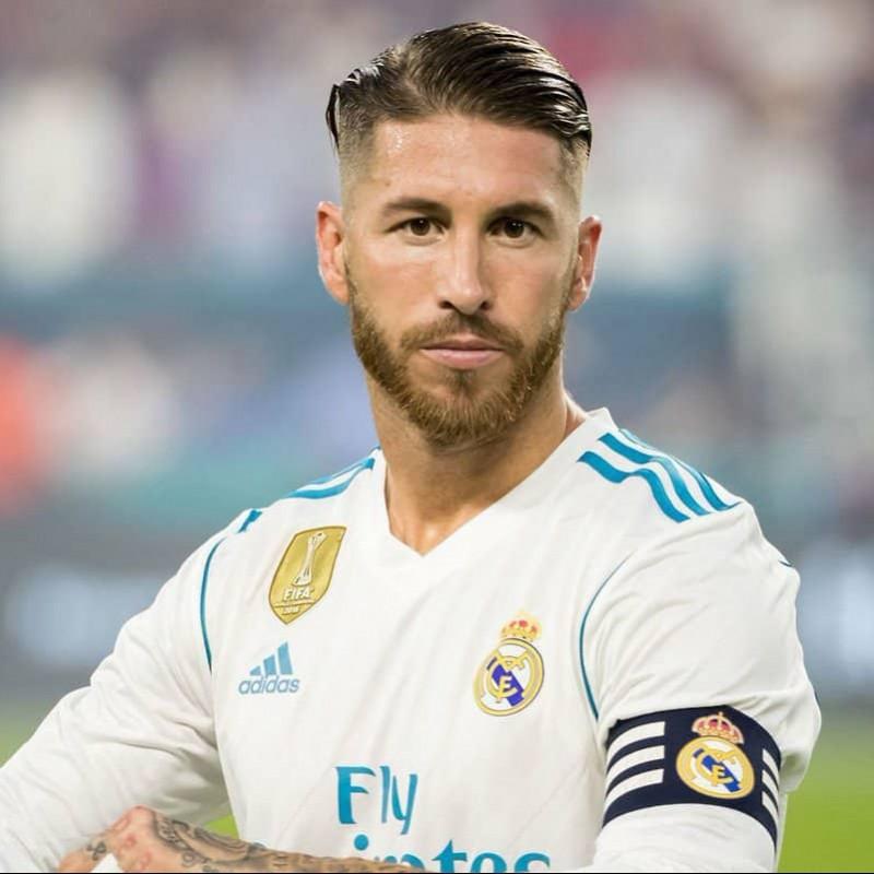 798ede30d0e7 Sergio Ramos  Real Madrid Match-Issue Worn 2017 18 Shirt
