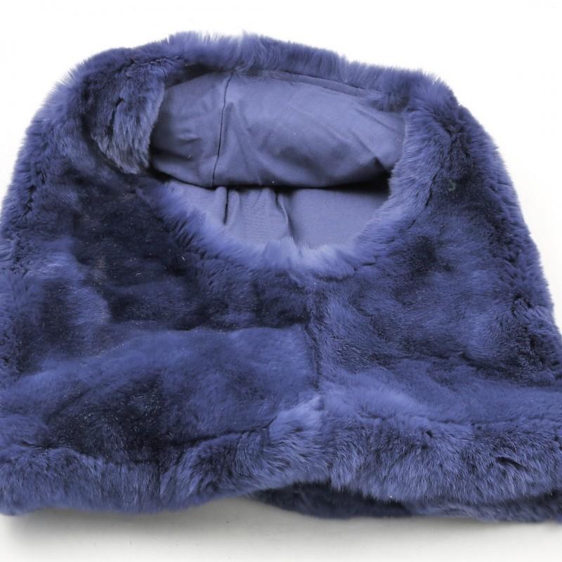 Rabbit Fur Armani Cowl