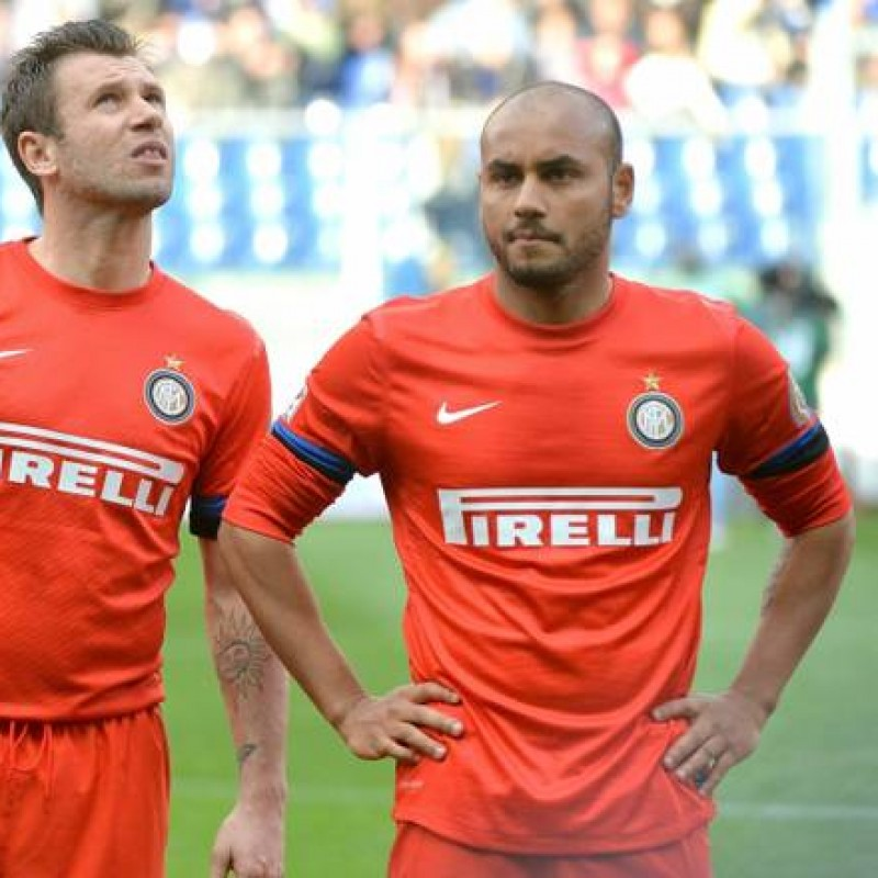 Jonathan's Worn Shirt, Sampdoria-Inter 2013