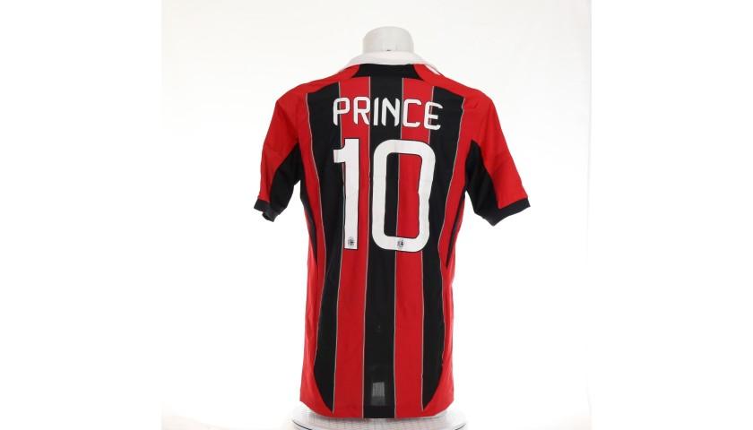 Boateng's Milan Worn Shirt, 2012/13