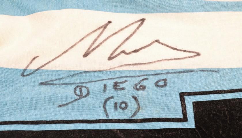 Maradona's Signed, Match-Issued/Worn Shirt, Coppa Artemio Franchi