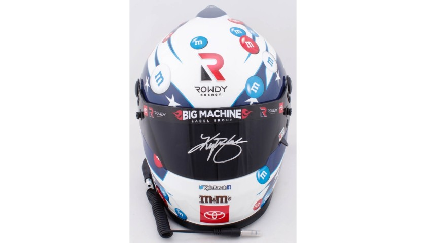 Kyle Busch Signed NASCAR Helmet
