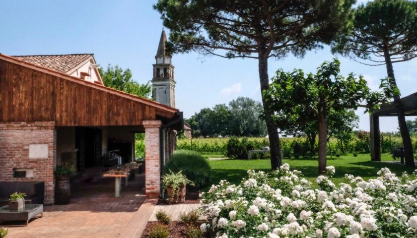 Overnight Stay and Dinner for 2 at Venissa Wine Resort in Venice, Italy
