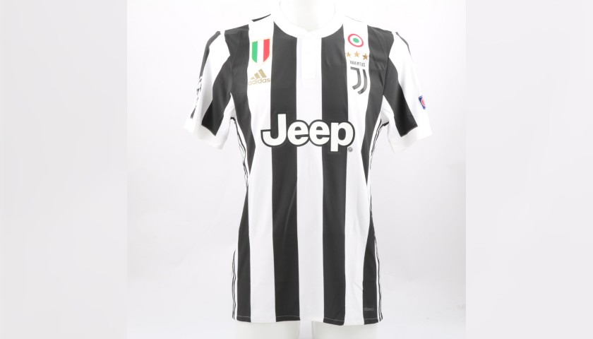 a4686f7ba Dybala s Match-Issue Juventus Shirt