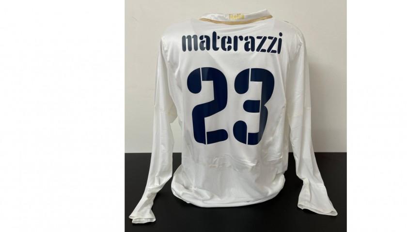 Materazzi's Italy Match Shirt, 2007/08