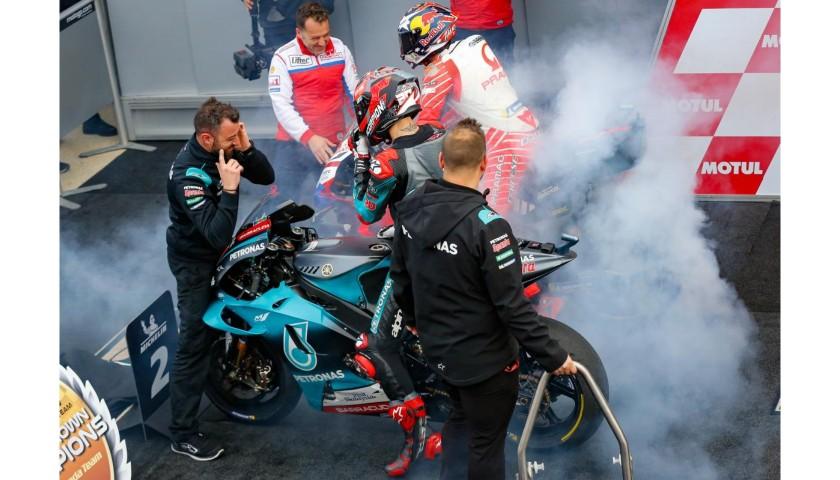 Quartararo's Tear Off that Ended Miller's Race in Misano