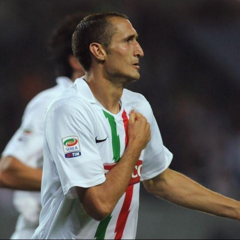 Maglia gara Chiellini Juventus, 2010/11