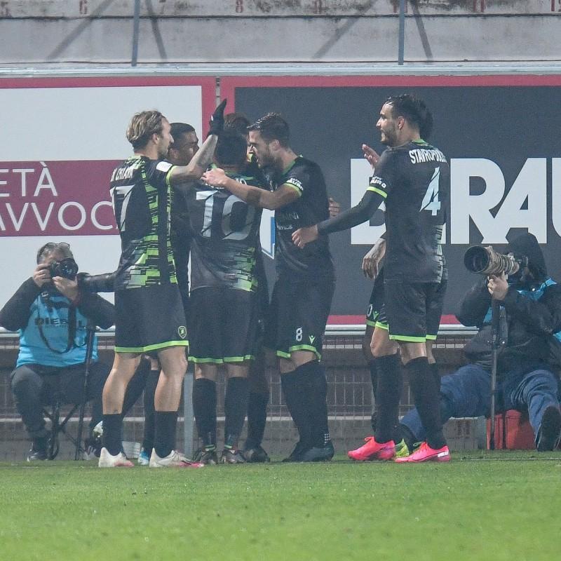 De Rose's Signed Match Shirt, Reggina 20/21