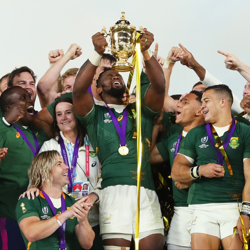 Official South Africa Rugby Signed Shirt, World Cup 2019