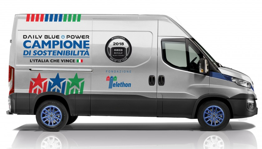 Daily Blue Power HI-MATIC Natural Power - CharityStars