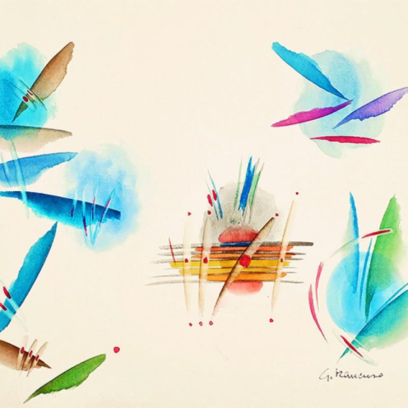 """Voli intorno all'isola"" by Giovanna Mancuso"