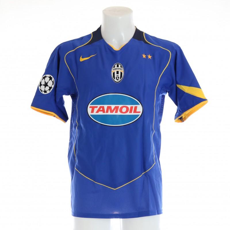 Birindelli's Juventus Match Shirt, UCL 2004/05