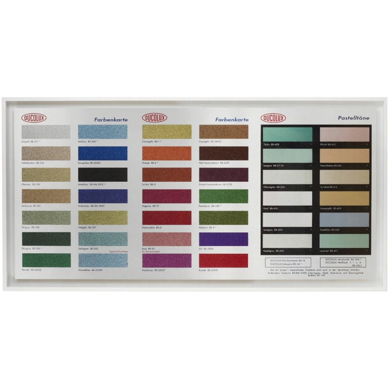 Colour Chart Glitter by Damien Hirst