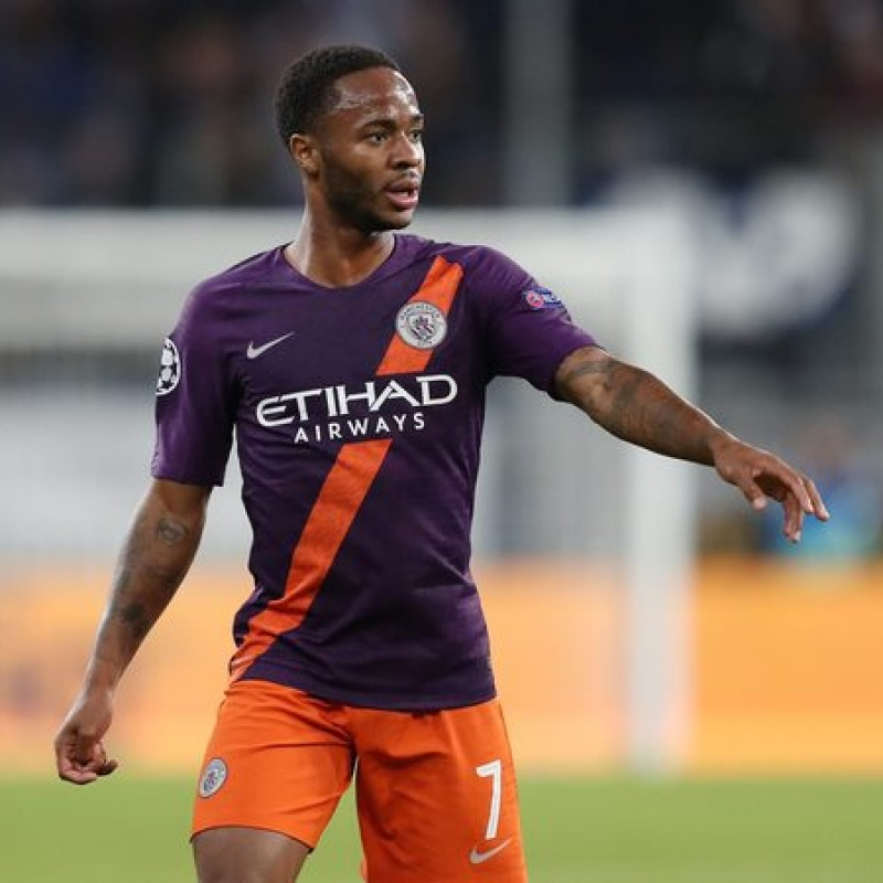 Sterling's Manchester City Match Shorts, Champions League 2018/19
