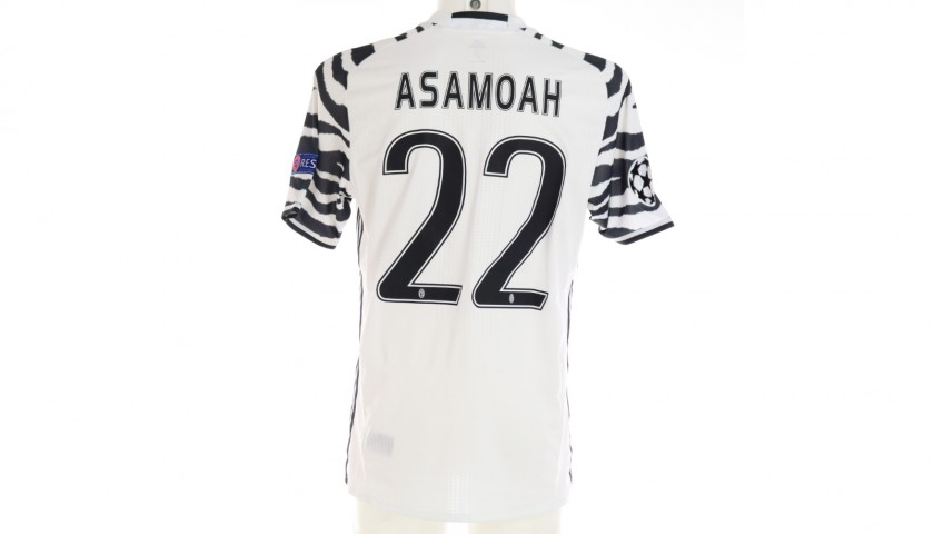 Asamoah's Juventus Match Shirt, UCL 2016/17