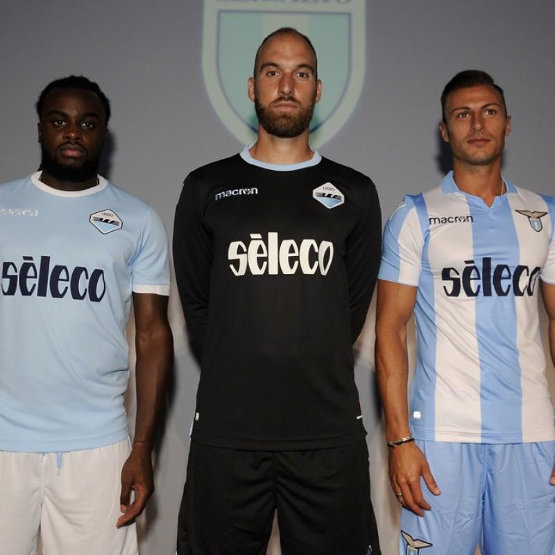 Vargic's Match-Issue/Worn Shirt, Lazio-Fiorentina + Boots