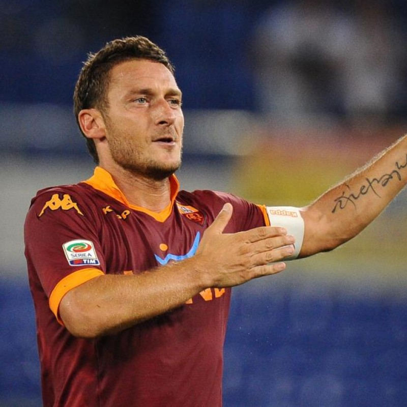 Totti's Official Roma Signed Shirt, 2012/13