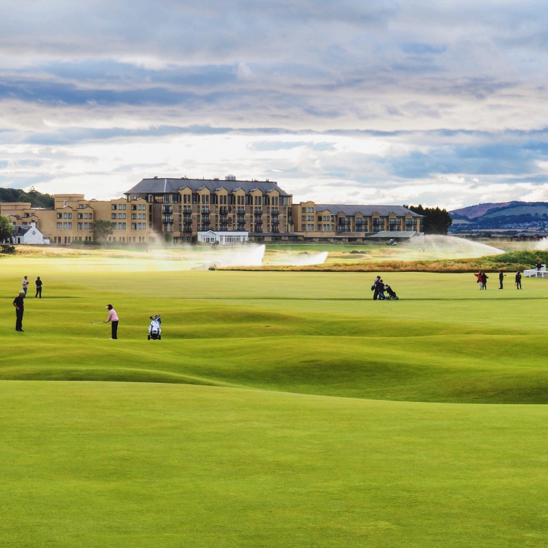 St. Andrews Golfing for Four People, Three Nights