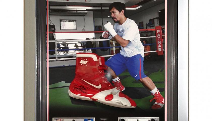 Signed \u0026 Worn by Manny Pacquiao Bradley