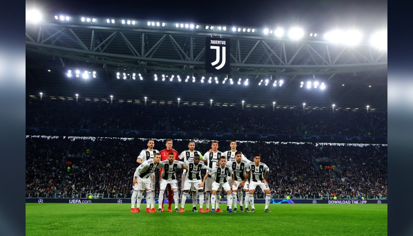 Enjoy the Juventus-Ajax Quarter Final from Row 1 of the Allianz Stadium in Turin