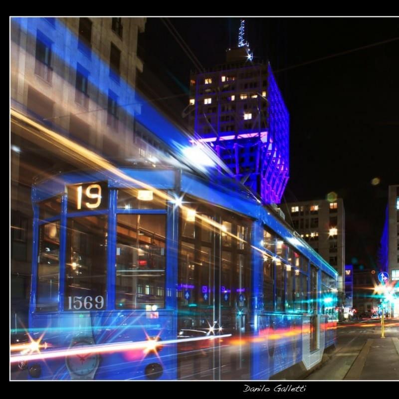 """Fotografia """"Milano in Blu"""" di Danilo Galletti"""